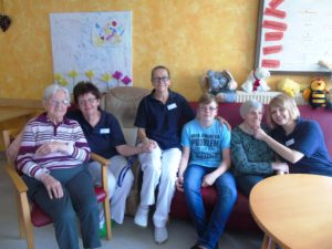 Boys´Day im AZURIT Seniorenzentrum Haus ASAM in Rohr